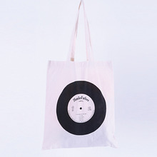 [Thanks Father]  Record Eco Bag - Beige