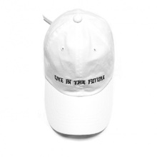 [THUSANDTHUS] Ball Cap - White/Black