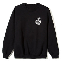 [Anti Social Social Club] Mind Games Crewneck [2017S/S] - Black