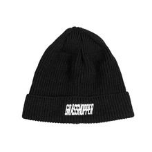 [GRASSHOPPER] Logo Short Beanie - Black