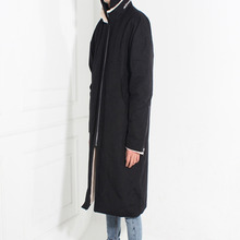 [Burj Surtr]Military Anorak Coat - Black