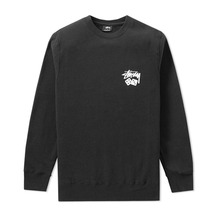 [Stussy] (10%세일) Dice Crewneck - Black