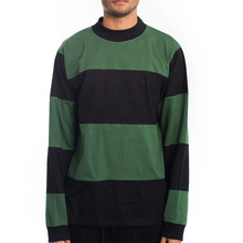 [Stussy] (10%세일) Bold Stripe Jersey - Black/Green