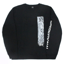 [Stussy] (10%세일) Birth Of Venus Crewneck - Black