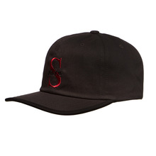 [Stussy] (10%세일) S Time Logo Cap - Black