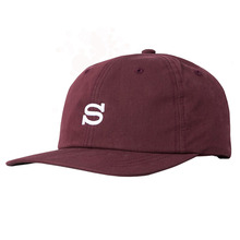 [Stussy] (10%세일) Cotton Nylon Cap - Burgundy
