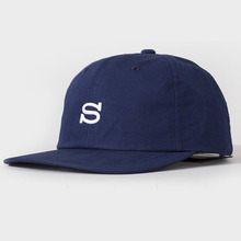 [Stussy] (10%세일) Cotton Nylon Cap - Navy
