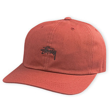 [Stussy] (10%세일) Stock Low Cap - Brick