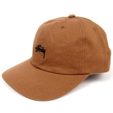 [Stussy] (10%세일) Stock Low Cap - Light Brown