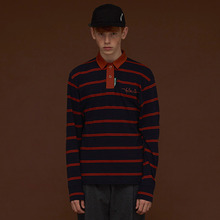 [DIM. E CRES.] (30%세일) Stripe PK T-Shirts - Orange