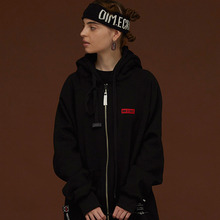 [DIM. E CRES.] (30%세일) Dim. Hood Zip Up - Black