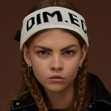 [DIM. E CRES.] (30%세일) Dim. Knit Hairband - White