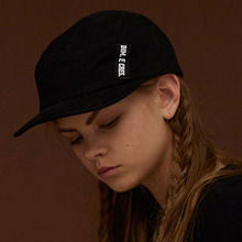 [DIM. E CRES.] (30%세일) Dim. Label Camp Cap - Black