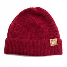 [Candlroute] Mantle short beanie (Burgundy)