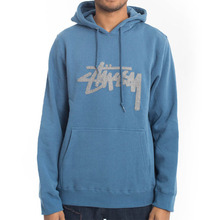 [Stussy] (10%세일) Wool Stock App. Hood - Steel blue