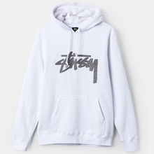 [Stussy] (10%세일) Wool Stock App. Hood - White