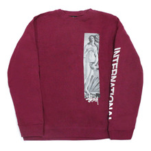 [Stussy] (10%세일) Birth Of Venus Crewneck - Purple