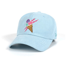 [STIGMA]ICE CREAM OXFORD BASEBALL CAP - BLUE