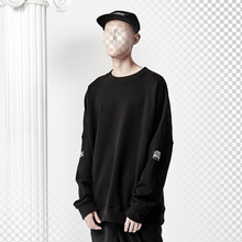 [ANTIMATTER] Signal Oversize Sweat_Black