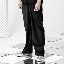 [ANTIMATTER] W Wide Pants_Black