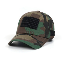 [STIGMA]VS FLAG VELCRO PATCH BASEBALL CAP - CAMOUFLAGE