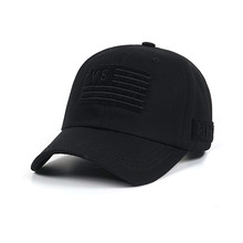 [STIGMA]VS FLAG VELCRO PATCH BASEBALL CAP - BLACK