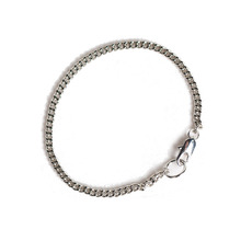 [RUSHOFF]Unisex The  Basic Silver Chain Bracelet - Surgical Steel