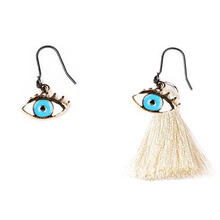 [RUSHOFF] The Eyes Point Tassel Earring