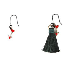 [RUSHOFF] The Red Arrow Tassel Earring