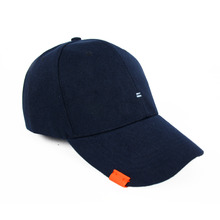 [RUSHOFF]Unisex Two Stich BallCap - Navy