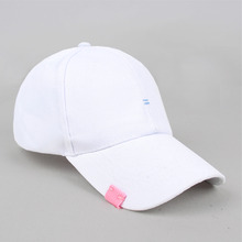 [RUSHOFF]Unisex Two Stich BallCap - White