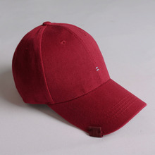 [RUSHOFF]Unisex Two Stich BallCap - Wine