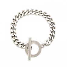 [RUSHOFF]Unisex The Ring Chain Bracelelt - Silver