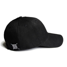 [RUSHOFF] Unisex RUSH OFF Black Patch Black BallCap - Black