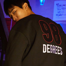 [20%할인] [SALON DE SEOUL] 98degrees Sweatshirt - Black