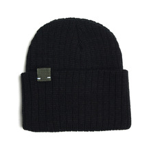 [RUSH OFF] Unisex Newness Khaki Label Basic Beanie