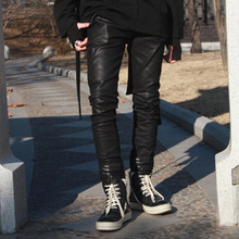 [YORKMINSTER] Deathless-003 Slim Coating Pants - Black