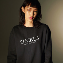 [ruckusplace] International Logo MTM - Black