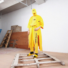 [MASTER NUMBER]MASTER NUMBER JOGGER PANTS - YELLOW(ORDER MADE)