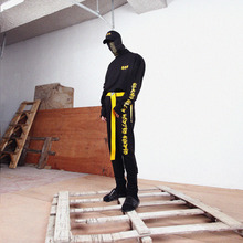 [MASTER NUMBER]MASTER NUMBER JOGGER PANTS - BLACK(ORDER MADE)