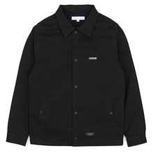 [LOKWARD] COTTON COACH JACKET - BLACK