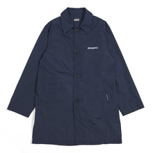 [GRASSHOPPER] Athletic Mac Coat - Navy
