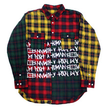 Tartan Check Patch Shirts