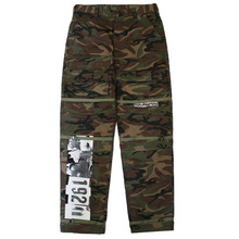 Basic Logo Camo Pants