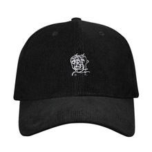 [DLUV] Corduroy Ball Cap - Black