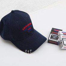 [KICKSHAW] (20%SALE) Logo Ring Cap - Navy