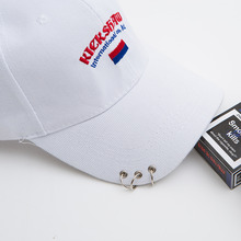 [KICKSHAW] (20%SALE) Logo Ring Cap - White