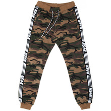 [NSTK] LINE SWEATPANTS - CAMO