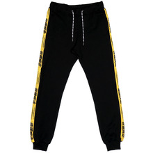 [NSTK] STAYMACH LINE SWEATPANTS - YELLOW