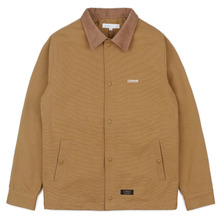 [LOKWARD] COTTON COACH JACKET - CAMEL